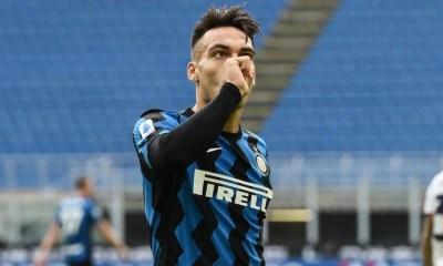 esultanza Lautaro Martinez Inter