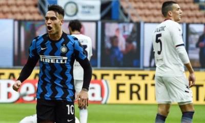 esultanza gol Lautaro Martinez Inter-Crotone