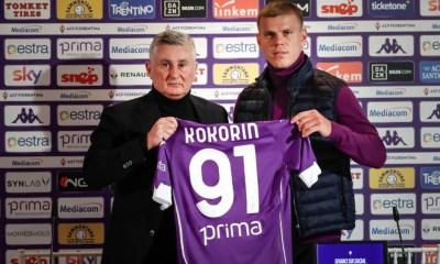 Kokorin ufficiale Fiorentina
