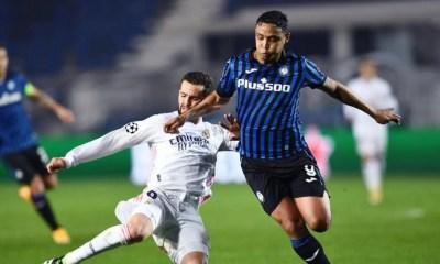 Luis Muriel-Nacho Fernandez Atalanta-Real Madrid