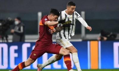 Roger Ibanez-Cristiano Ronaldo Juventus-Roma