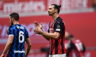 Zlatan Ibrahimovic Milan-Inter