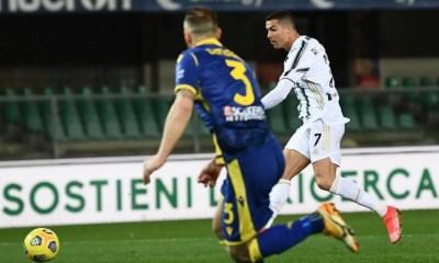 gol Cristiano Ronaldo Verona-Juventus