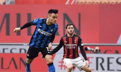 gol Lautaro Martinez Milan-Inter