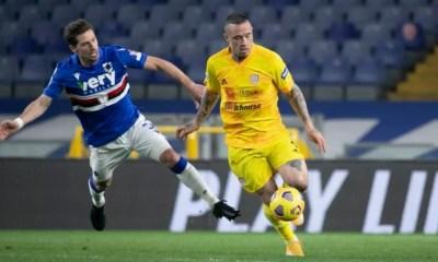Gol Nainggolan Sampdoria-Cagliari