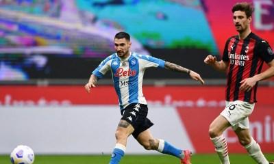 Gol Politano Milan-Napoli
