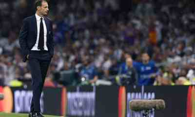 allegri juventus real madrid