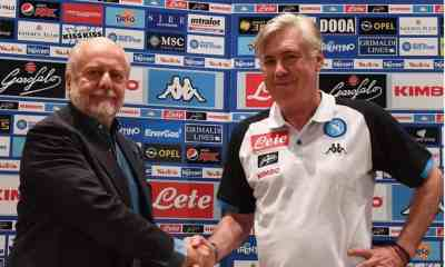 Aurelio De Laurentiis Ancelotti Napoli
