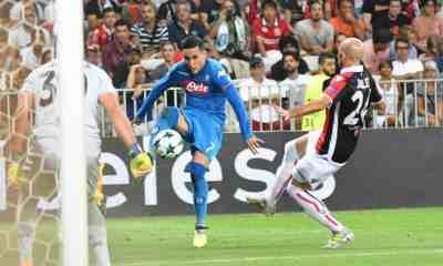 Callejon Nizza Napoli Champions