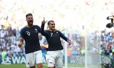 Esultanza Griezmann Francia