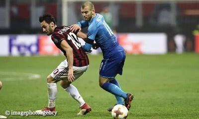 Hakan-Calhanoglu-Jack-Wilshare-Milan-Arsenal