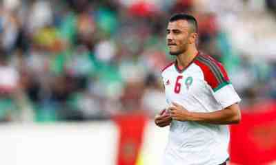 Romain Saiss Marocco