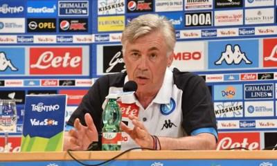 conferenza carlo ancelotti allenatore napoli