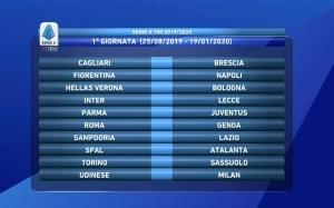 Nuovo Calendario Serie A.Ufficiale Calendario Serie A Inizio Da Brividi Per Il
