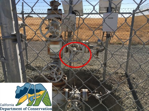 Suspect valve stem to be monitored with FLIR camera.