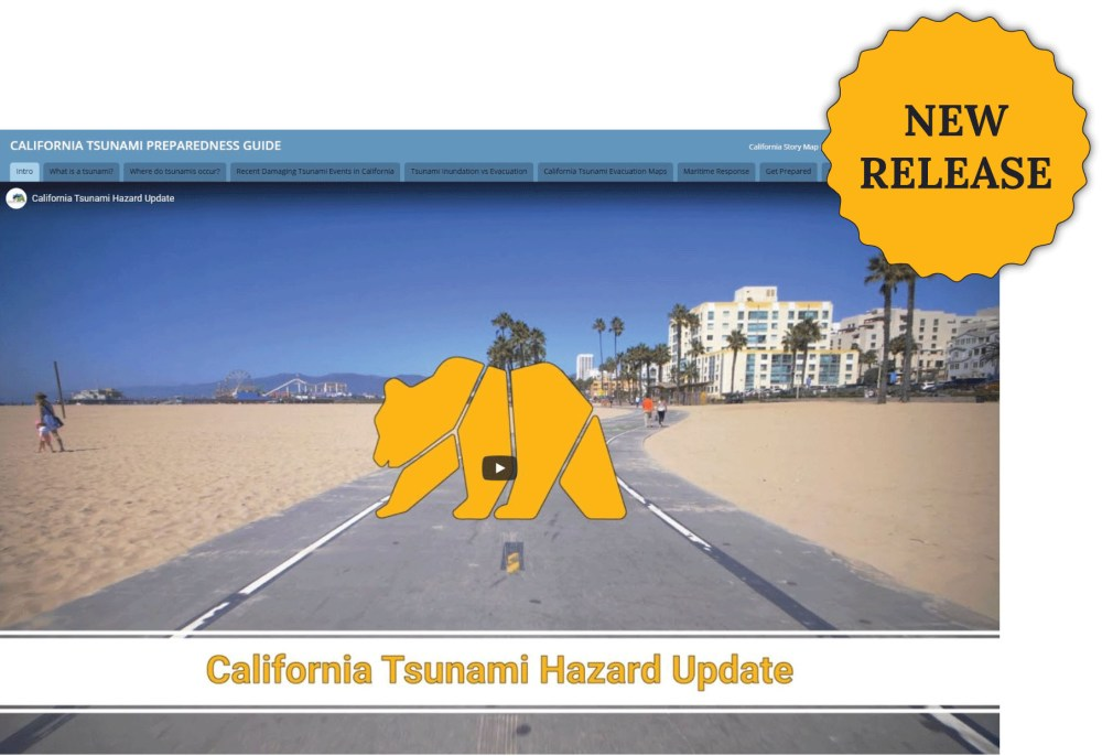 Tsunami Story Map with Humboldt County Evacuation and Inundation Maps