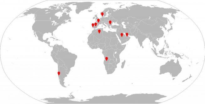 Cálculo de estructuras e instalaciones. Proyectos internacionales