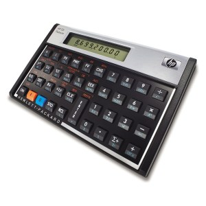 Calculadora Financiera HP 12C Platinum (F2231AA)