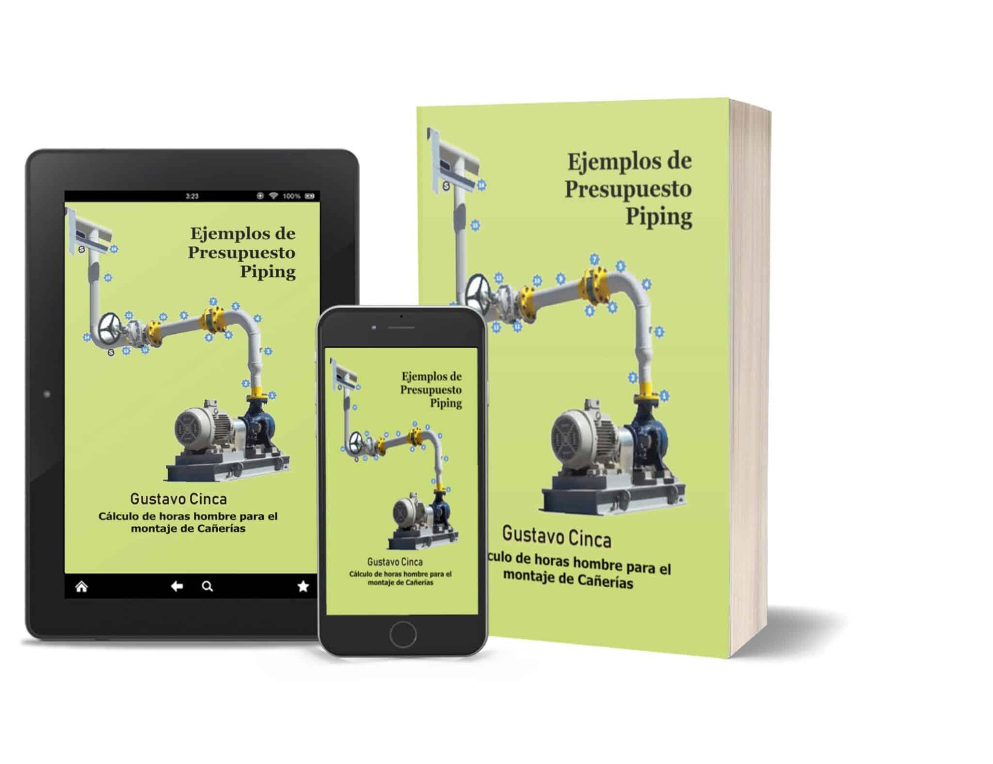 Ejemplos de Presupuesto - Piping: Cálculo de Horas Hombre para el Montaje de Cañerías con Ejemplos