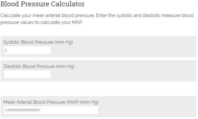 How to calculate blood pressure - Calculator Academy Calculate Map Bp on
