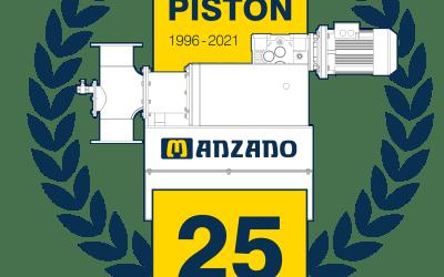 25 ANIVERSARIO del diseño original de la bomba de pistón