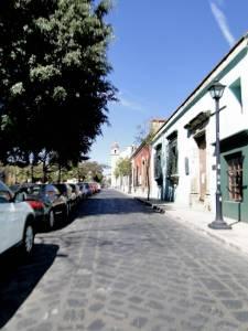 pedestrian street in El Centro