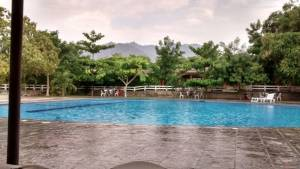 Pool at resort in Chiquimula