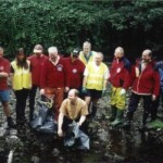 Calder Valley Search and Rescue Team with the Mayor of Calderdale, 2000