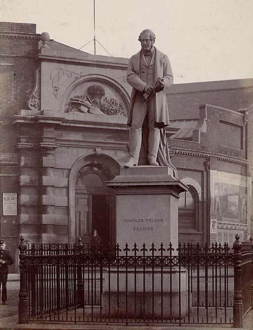 Charles Pelham Villiers statue