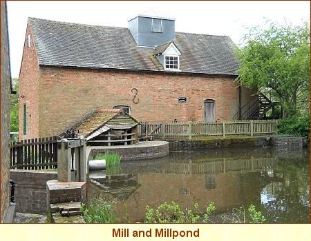 New Hall Mil and Pond