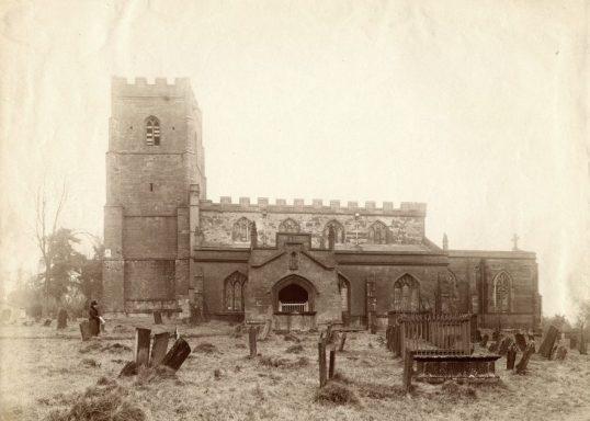 St Botolph's Church, Newbold on Avon. 1910s