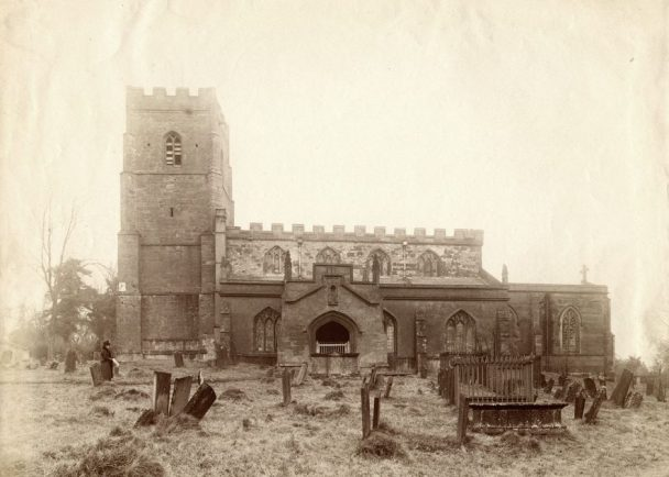 St Botolph's Church, Newbold on Avon. 1910s