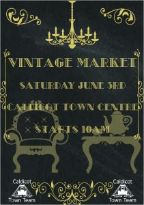 Vintage Market @ Caldicot Town Centre   Wales   United Kingdom