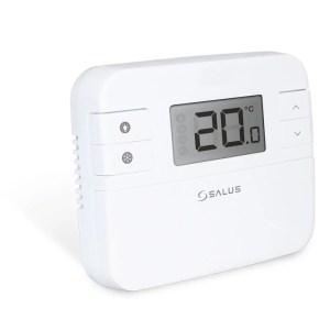 Denný digitálny termostat SALUSRT310 SALUS RT310 je priestorový manuálny termostat s podsvieteným displejom. Slúži na reguláciu požadovanej teploty v miestnosti.