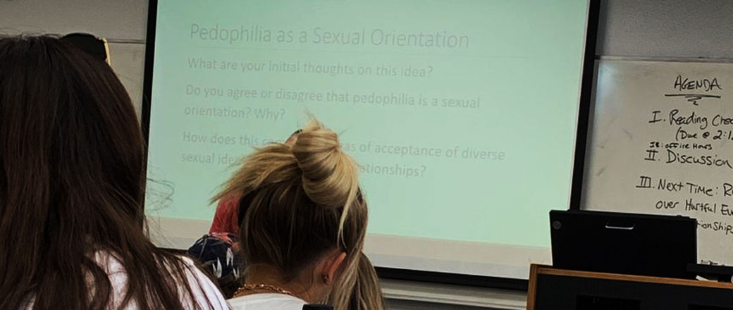 Schools are teaching students, pedophilia is a 'sexual orientation'