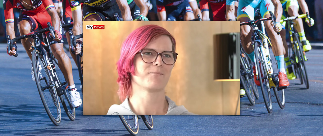 Trans cyclist says, if you believe trans women are real women, then you can't exclude trans athletes from women's sports, it's a 'human right'