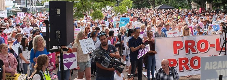 Thousands Join March for Life Queensland in a Stand for Good Government Against Lethal Legislation