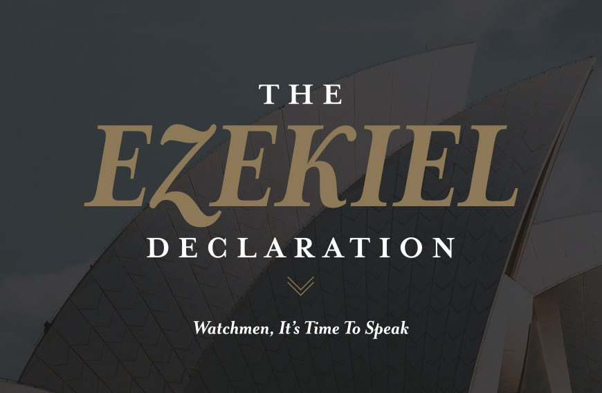 An Important Update from the Authors of the Ezekiel Declaration