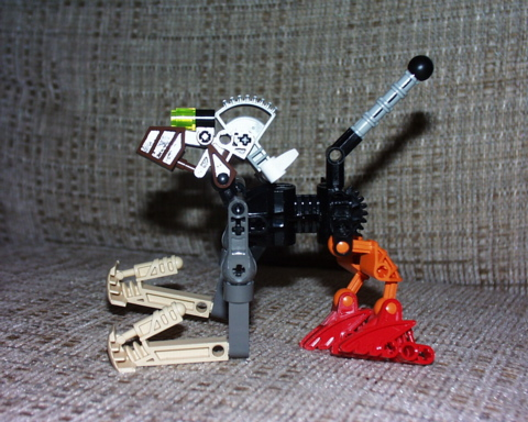 random Bionicle MOC built when C was 5
