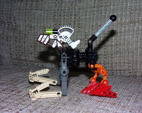 random Bionicle MOC built when C was 5