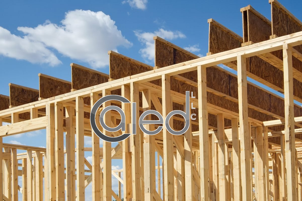 Framing the residential building