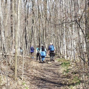 Spring Hike to Pass the Baton