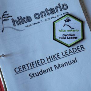Hike Leader Manual & Badge