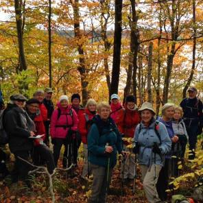 Hikers Enjoying the Fall Bed & Breakfast