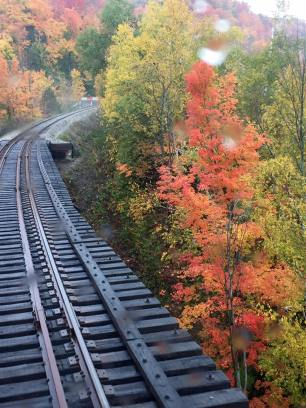 2016 Fall Colours Train Ride: Trestle Bridge
