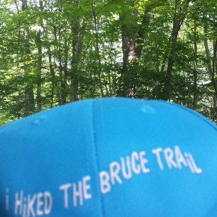 I hiked the Bruce Trail!