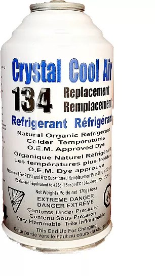crystal cool air replacement refrigerant