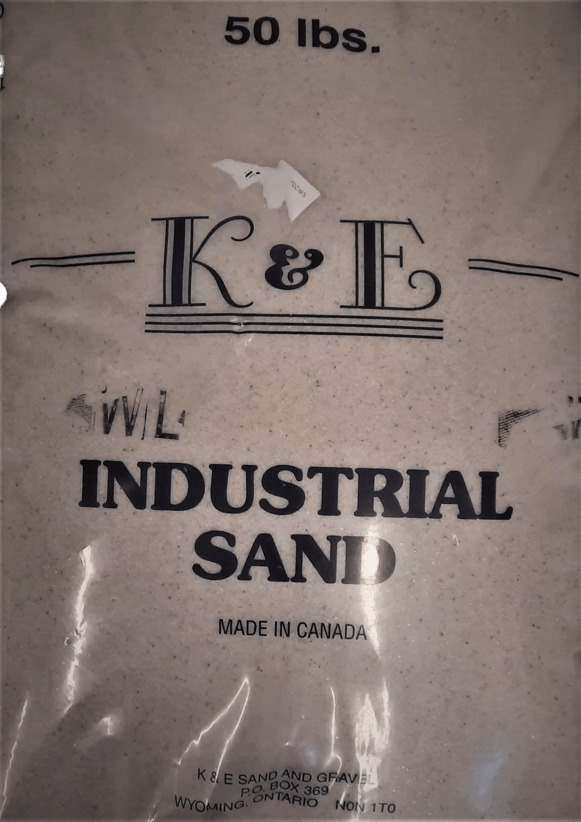 industrial sand