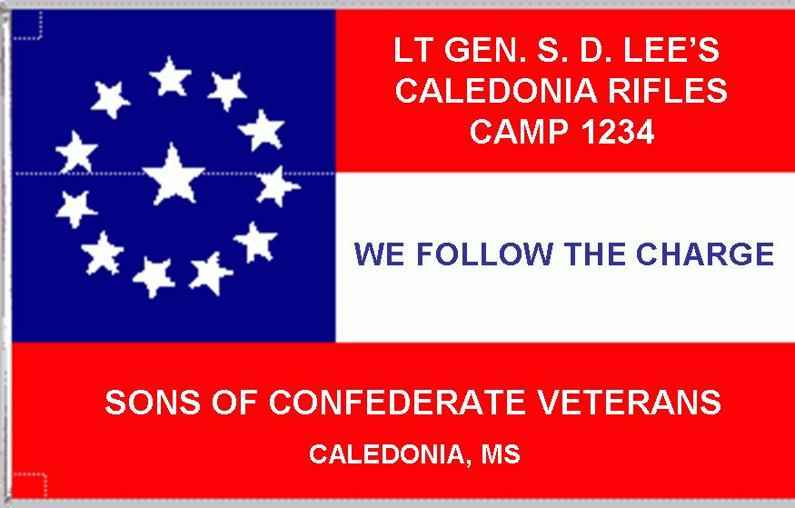 Vicksburg Garrison Flag of the CSA