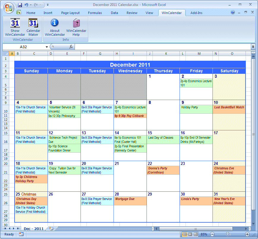 Google Calendar: Teaching And Learning In The World Of